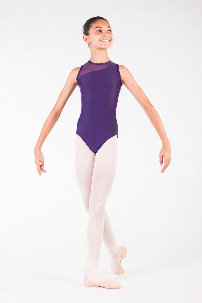 Ballet Rosa Nadège black leotard