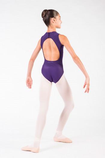 Justaucorps Nadège Ballet Rosa enfant prunus.