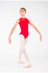 Justaucorps Nadège Ballet Rosa enfant rouge