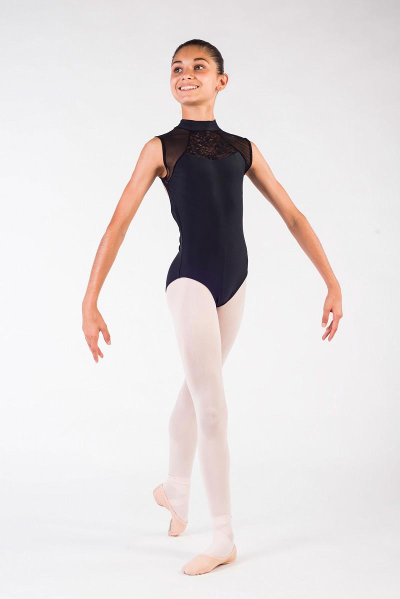 justaucorps Ballet Rosa Anita noir
