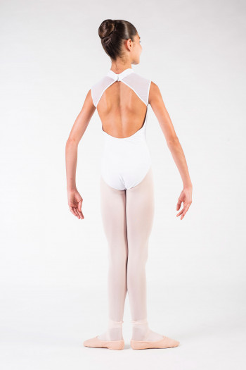 Leotard Ballet Rosa Anita white child