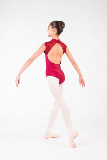 Justaucorps Berenice Ballet Rosa bordeaux enfant
