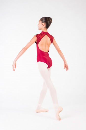 Leotard Berenice Ballet Rosa burgundy child