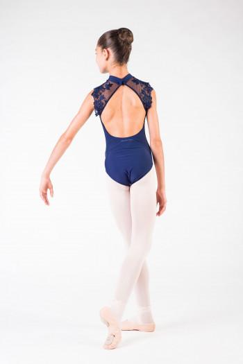 Justaucorps Berenice Ballet Rosa marine enfant