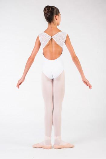 Leotard Ballet Rosa Dauphine white