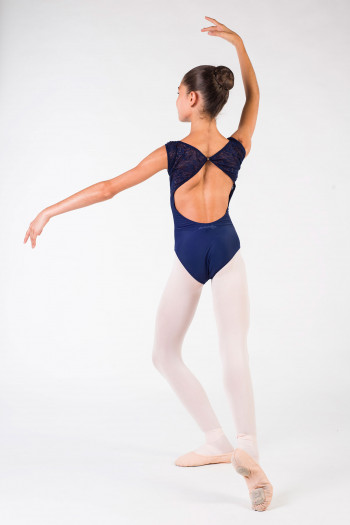 Leotard child ballet rosa Dauphin navy