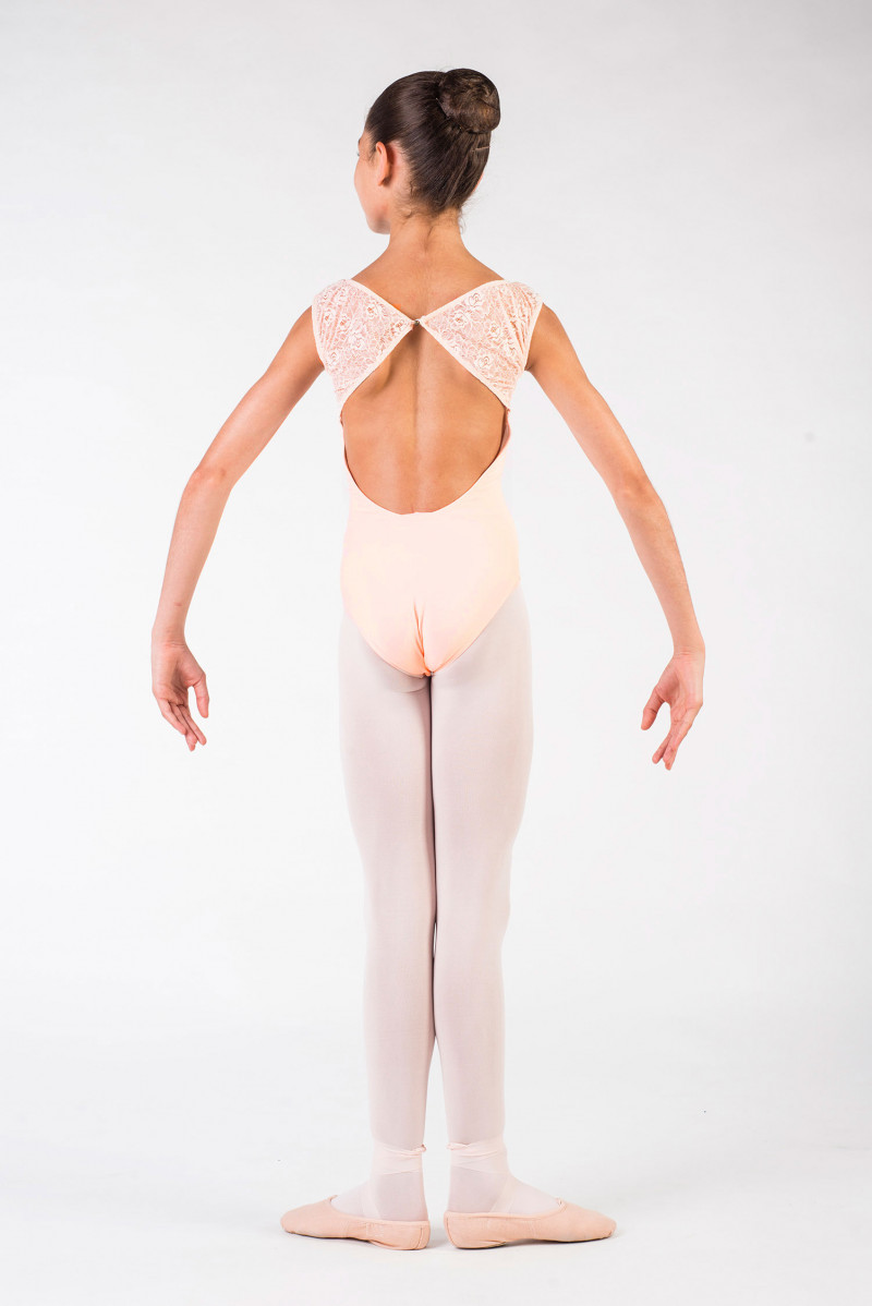 justaucorps Ballet Rosa Dauphine poudré
