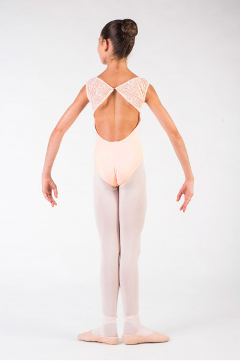 Leotard Ballet Rosa Dauphine powder