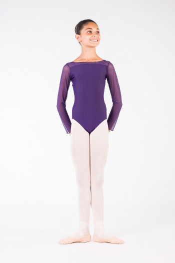 Leotard child eleonora ballet rosa prunus