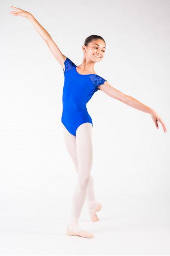 Justaucorps Ballet Rosa Josephine royal enfant