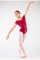Justaucorps Ballet Rosa Josephine bordeaux enfant