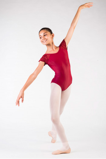 Ballet Rosa Josephine burgundy child leotard