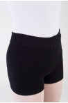 Warm up short Capezio CK10951W black