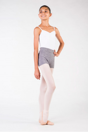Warm up short Capezio CK10951W grey
