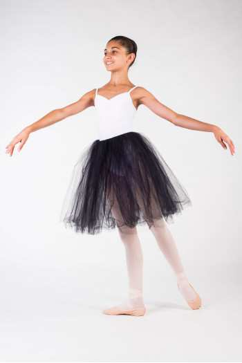 Tutu skirt black chid Leo Bloch