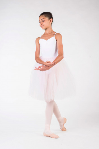 Tutu skirt light pink chid Leo Bloch