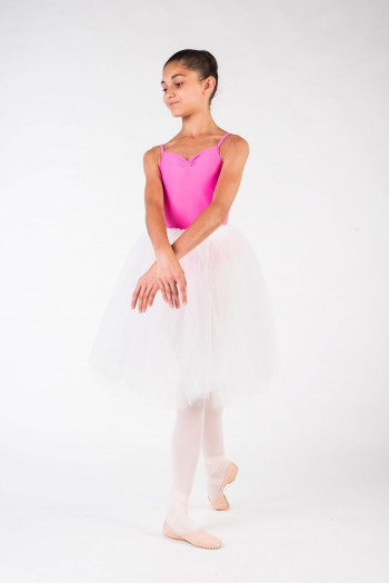 Tutu skirt white chid Leo Bloch