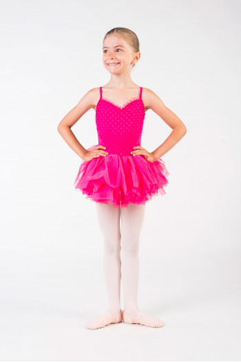 Tutu Bloch enfant CL8168 hot pink