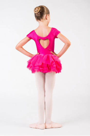 Bloch child tutu hot pink CL8012