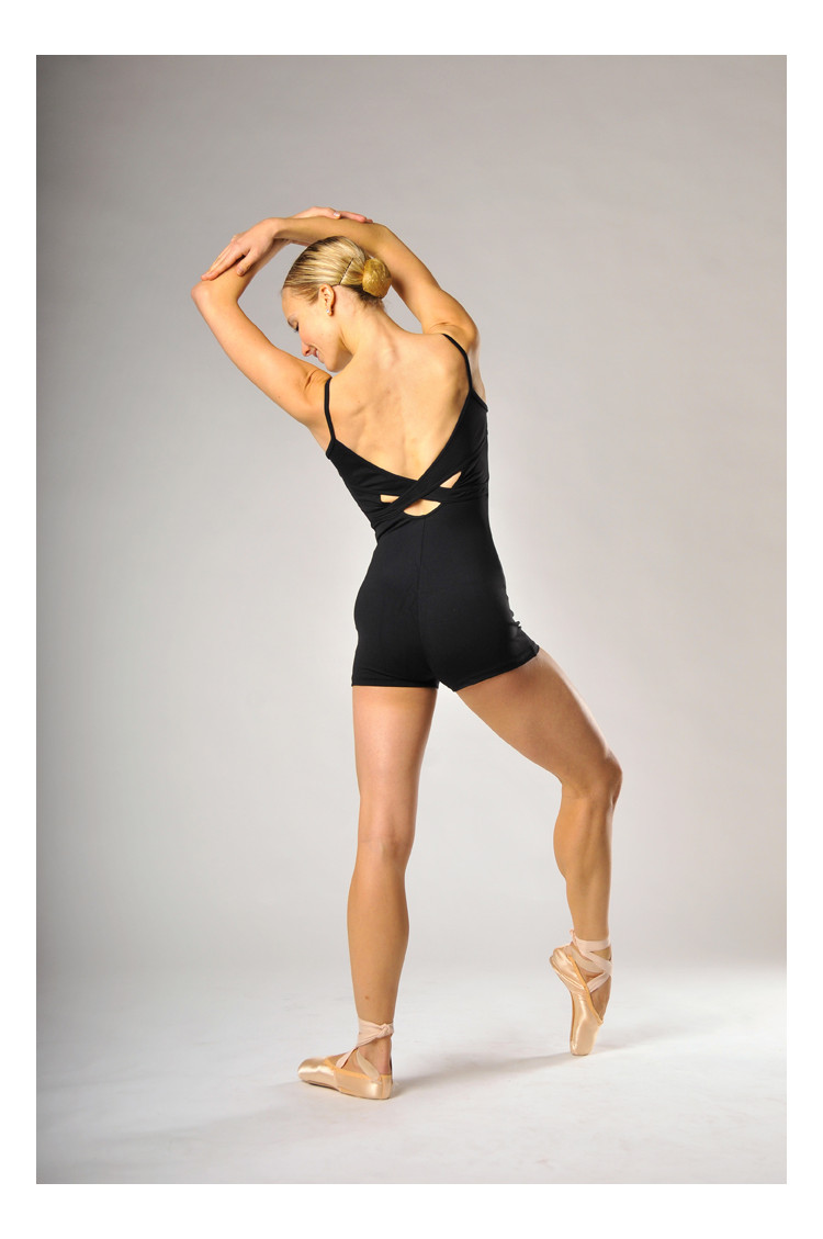 Bloch Bloem black Short Unitard