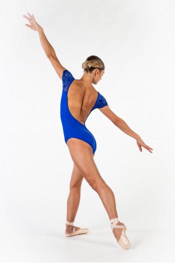 Justaucorps Ballet Rosa Josephine royal adulte