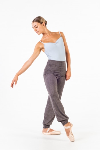 Temps Danse Ecrin charcoal pants