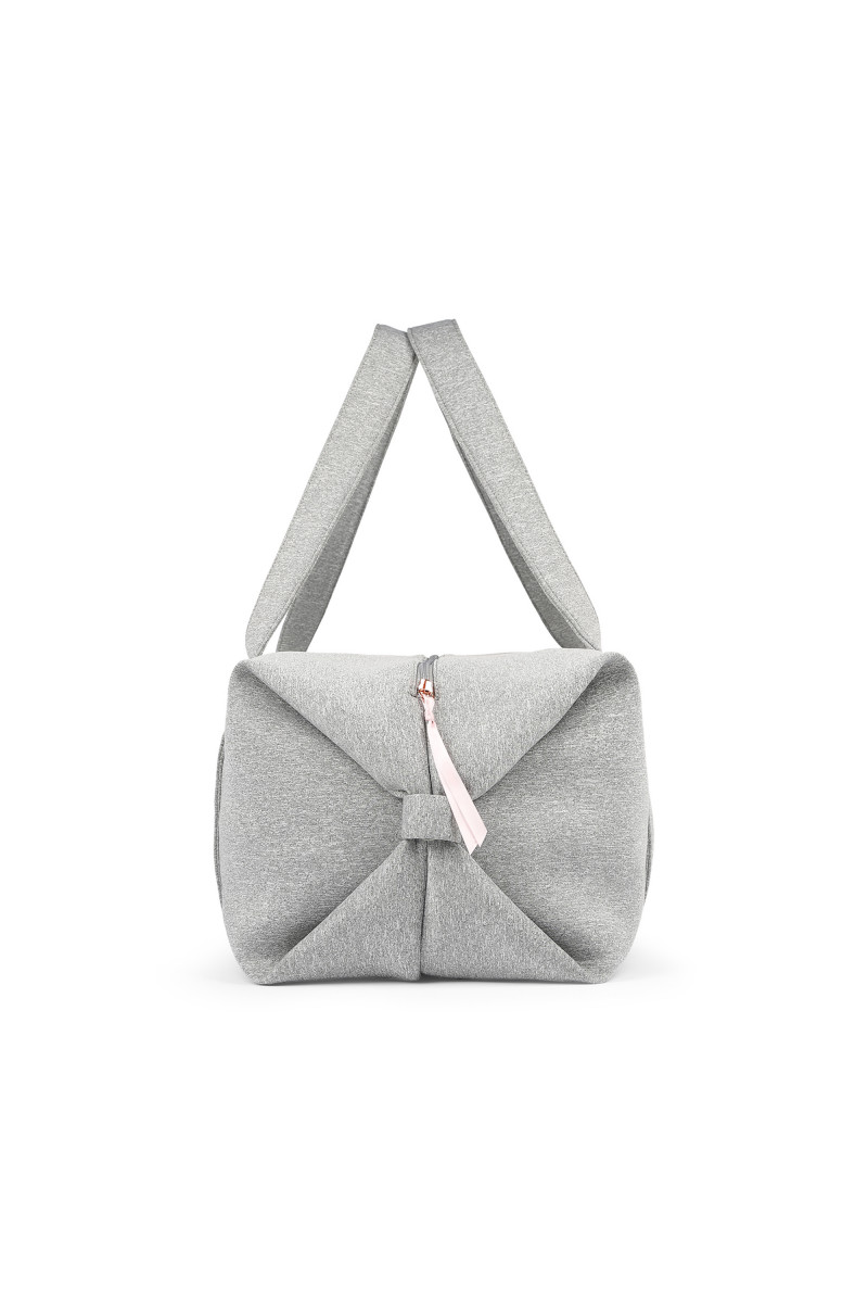 Sac Repetto grand polochon B0233JN Gris chiné