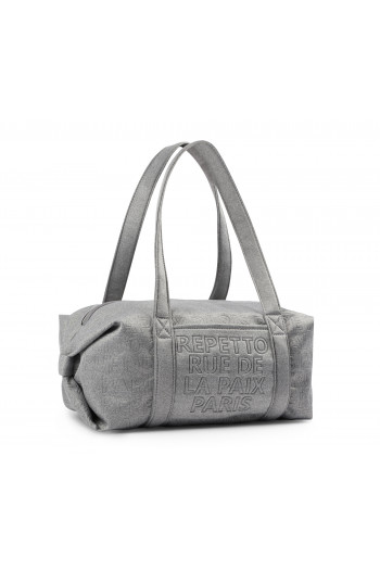 Sac Repetto polochon B0232JN Gris Chiné