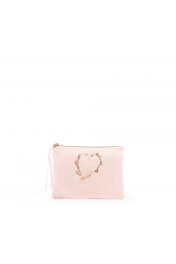 Petite pochette Repetto Rose Tendresse