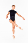 Justaucorps Ballet Rosa Amandine noir collection Ciaravola
