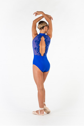 Ballet Rosa royal blue Amélie Leotard Women