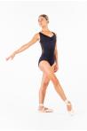 Justaucorps Ballet Rosa Anette noir collection Royal