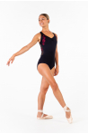 Justaucorps Ballet Rosa Anette noir/bordeaux collection Royal