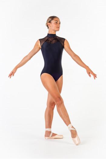 Leotard Ballet Rosa Anita black