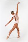 Justaucorps Ballet Rosa Amélie rose poudré
