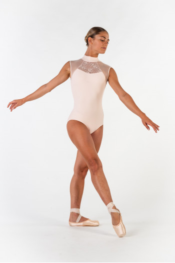 Leotard Ballet Rosa Anita powdery pink