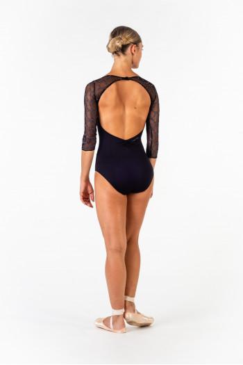 Justaucorps Ballet Rosa Anouk noir/gris