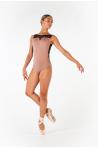 Justaucorps Ballet Rosa Antonia noir/café au lait
