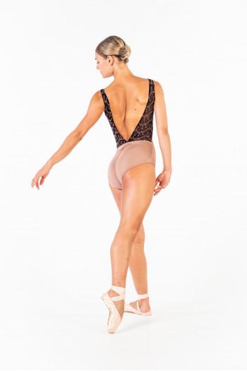 Justaucorps Ballet Rosa Antonia café au lait