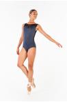 Justaucorps Ballet Rosa Antonia gris