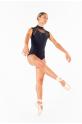 Justaucorps Berenice Ballet Rosa noir femme