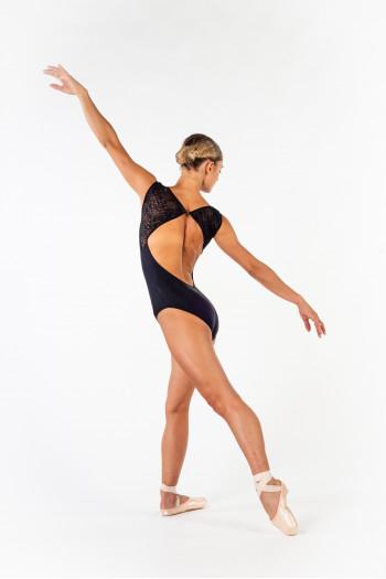 Leotard Ballet Rosa Dauphine black