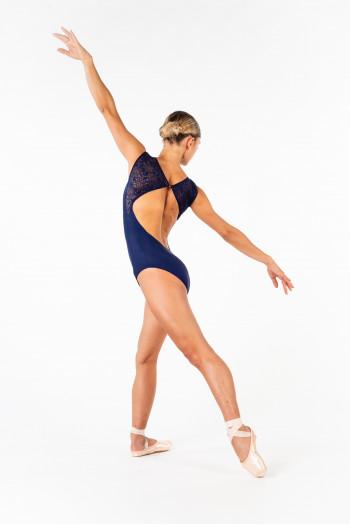 Leotard Ballet Rosa Dauphine navy