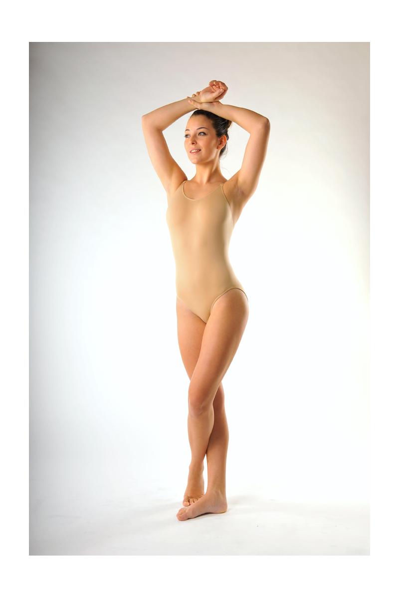 Body danse sous vêtement chair capezio