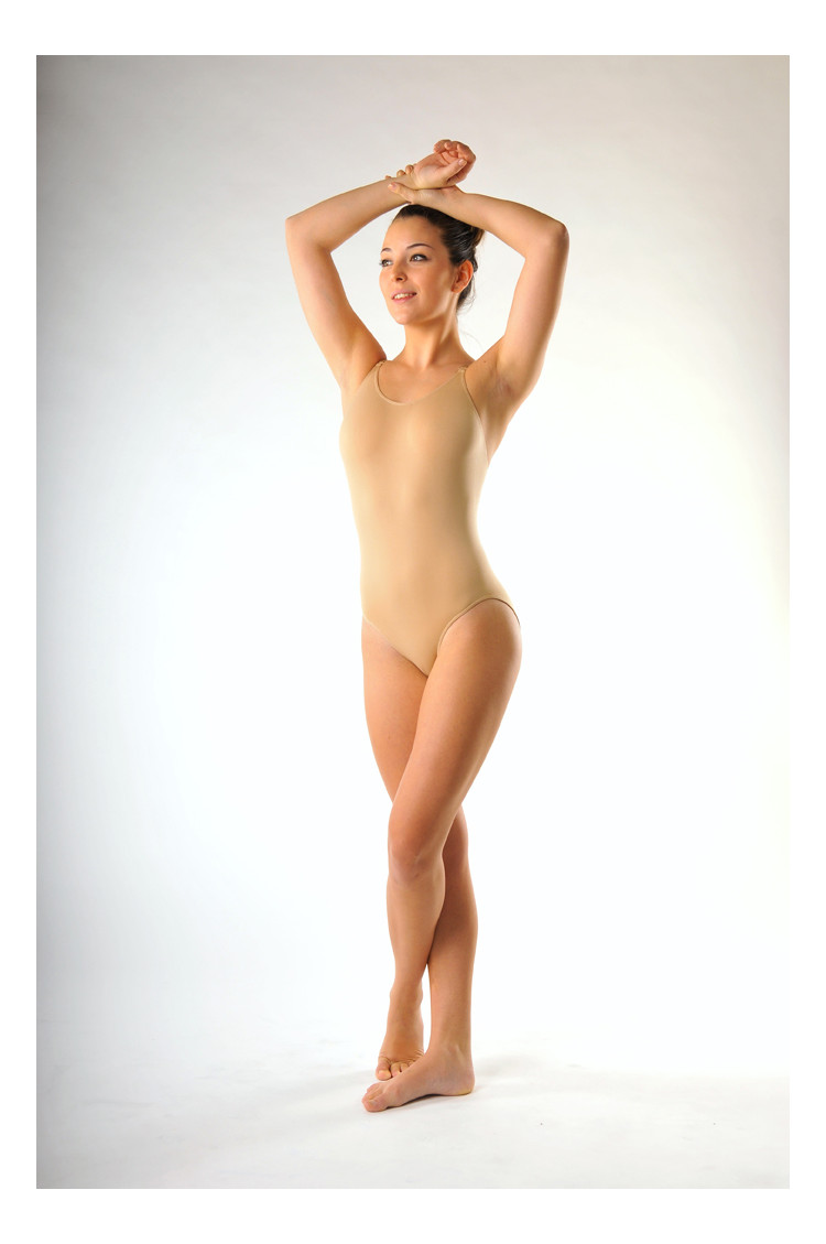 Capezio Seamless low back camisole leotard