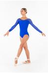 Justaucorps manches longues Ballet Rosa Eleonora royal