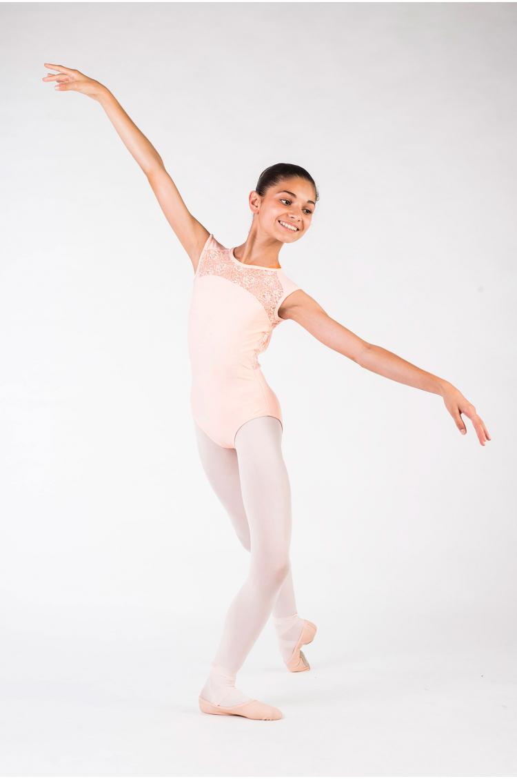 Justaucorps Ballet Rosa Rita poudré enfant