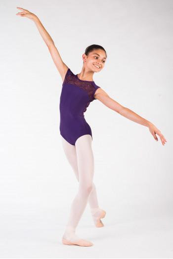 Justaucorps Ballet Rosa Rita prunus enfant