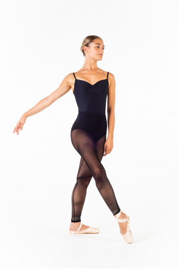 Ballet Rosa Laetitia black tights