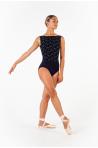 Justaucorps Ballet Rosa Lorrelle noir/gris